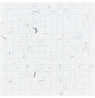 Mozaika szklana 4mm 65592 BIAŁA MARMURKOWA