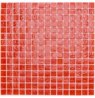 Mozaika szklana 4mm 03110 CZERWONA / ROT UNI