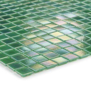 Mozaika szklana 4mm 02753 ZIELONA / PERŁOWA