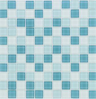 Mozaika szklana 4mm 41053 TURKUSOWA MIX / TURKIS MIX