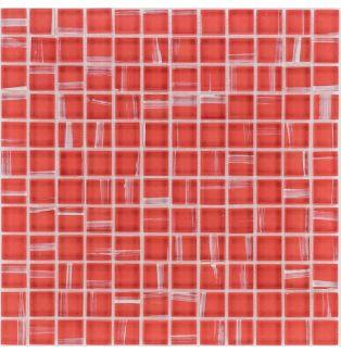 30354 CZERWONA / ART DECO / RED
