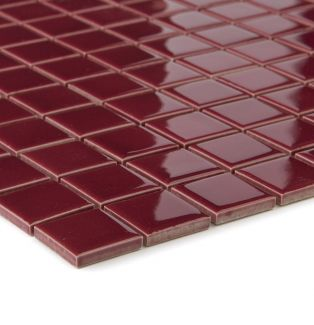 Mozaika ceramiczna 05040 BORDOWA / BŁYSZCZĄCA / BORDEAUX