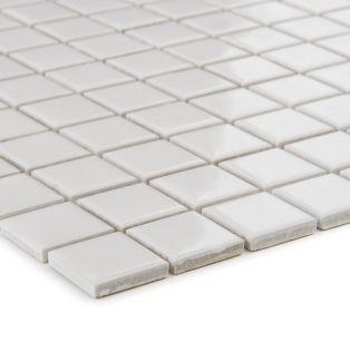 Mozaika ceramiczna 41169 BIAŁA BŁYSZCZĄCA / WEISS GLANZEND