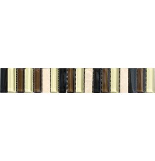 Listwa szklana 53568 MARMOR BEIGE / GLAS BRAUN-BEIGE