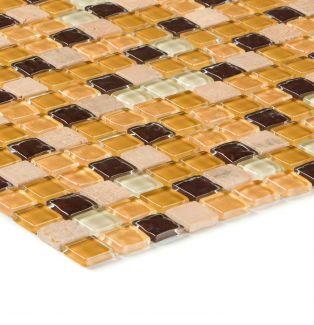 Mozaika szklano-kamienna 70473 ŻÓŁTA / YELLOWSTONE