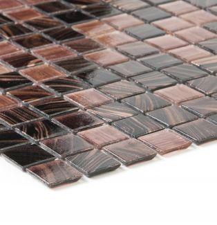 Mozaika szklana 4mm 66384 BRĄZOWO-MIEDZIANA/ PERLMUT