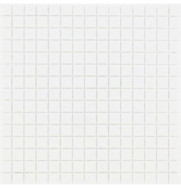 Mozaika szklana 4mm 03100 BIAŁA / WEISS UNI