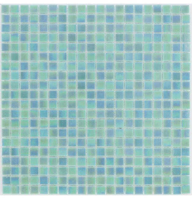 Mozaika szklana 4mm 03274 PERŁOWA WODA / PERLMUTT AQUA