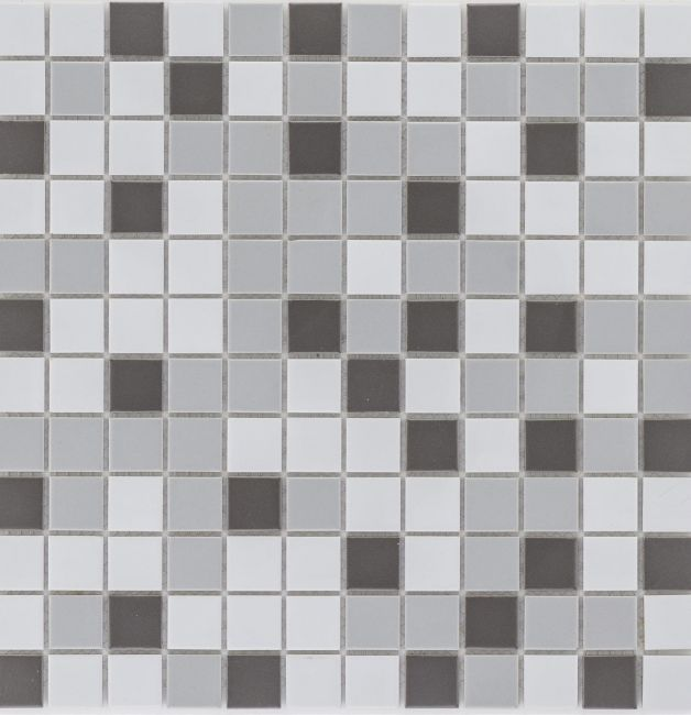 Mozaika ceramiczna 27361 SZARA MIX / GRAU MIX MATT