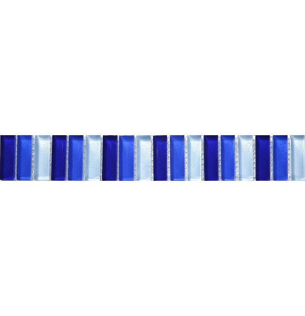 Listwa szklana 8mm 33775 NIEBIESKA  MIX