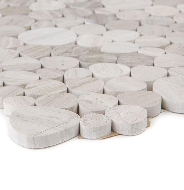 Mozaika kamienna 65622 KREMOWA / MARMUR