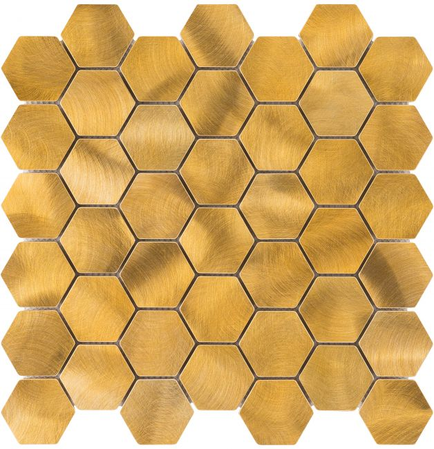 86542 MOZAIKA GOLD HEXAGON, ZŁOTA