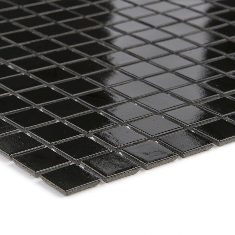 Mozaika szklana 4mm 07529 CZARNA / SCHWARZ UNI
