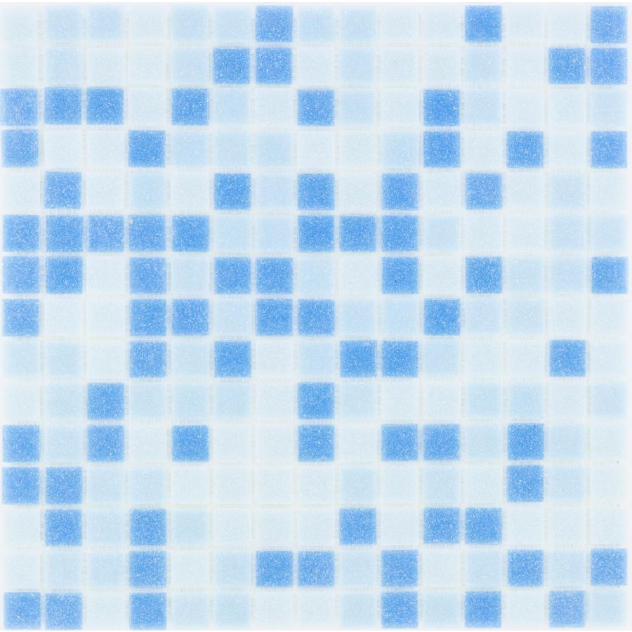 Mozaika szklana 4mm 27200 JASNONIEBIESKA MIX / BLUE MIX LIGHT