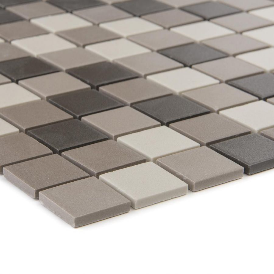 Mozaika ceramiczna 53254 BRĄZOWO-KREMOWA GRESOWA