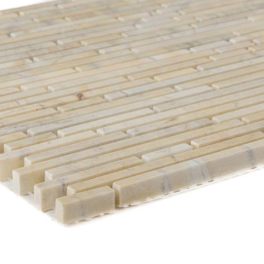 Mozaika kamienna 66148 ŻÓŁTO-KREMOWA / MARMUR / YELLOW SUN